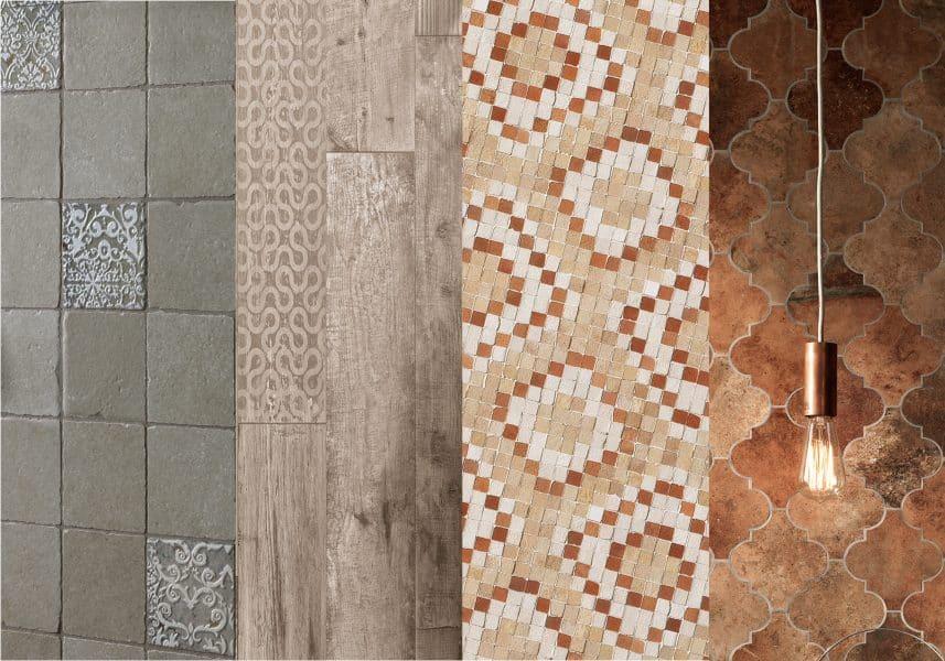 (L-R): Settecento Proxi, Tagina Rivamancina, Fap Firenze Heritage, Novabell Materia