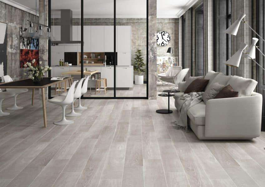 """STN Cerámica, Keratile, Arthus, Wood Tile (9"""" X 47"""")"""