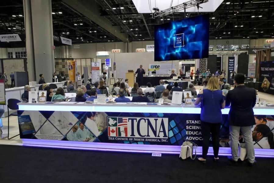 Hot Dog! The TCNA North American Pavilion Inspires and Delights