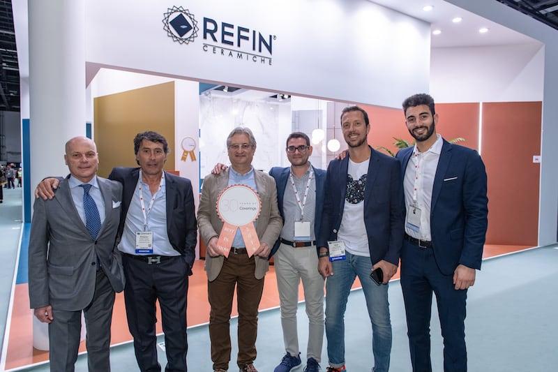 Ceramiche Refin, winners of On Trend In Smaller Space