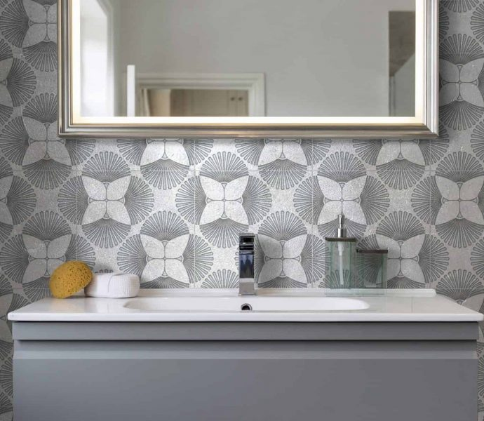 Most Popular Flooring For 2019: 2019 Tile Trends: Geometric Tiles & Pattern Play