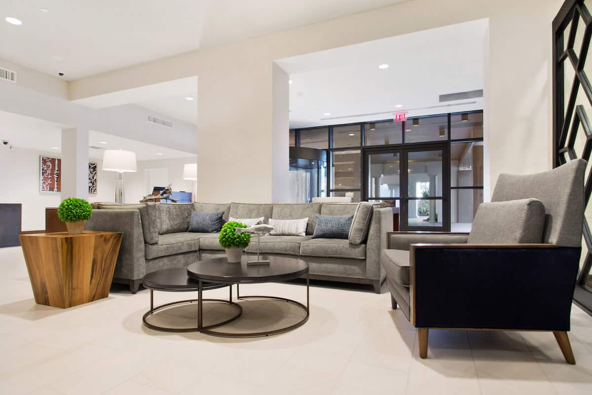 Doubletree Lobby Seating