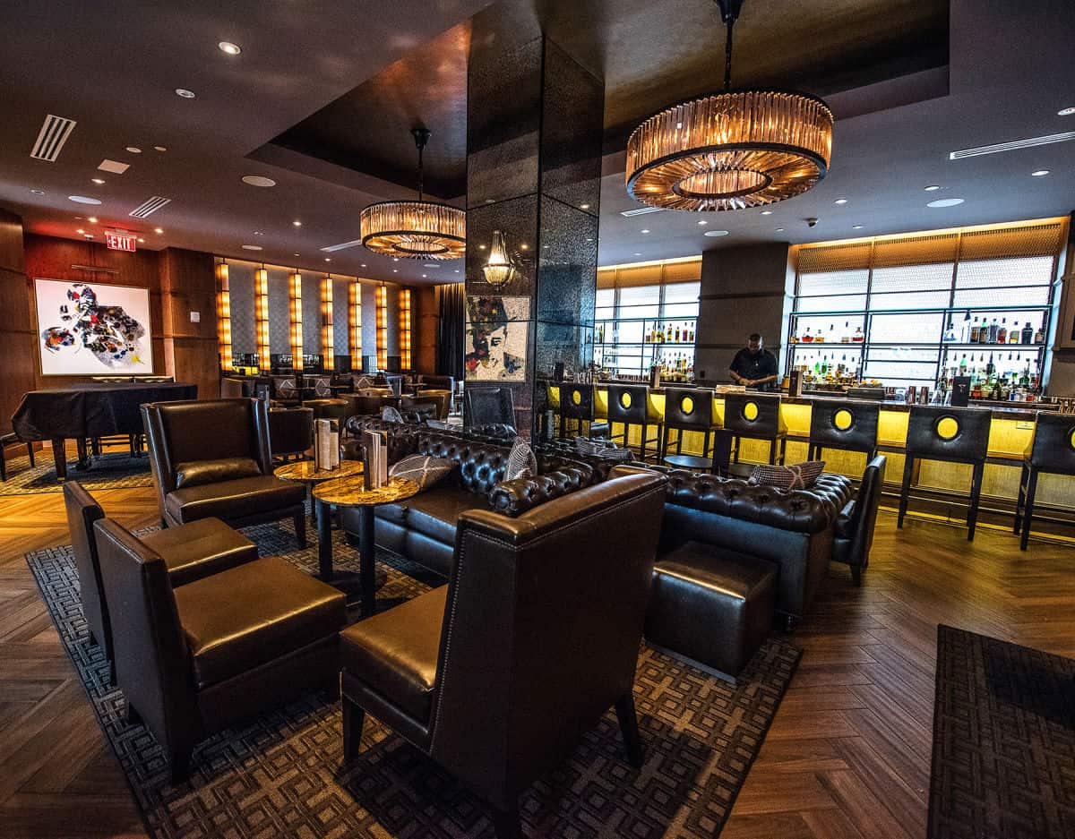 Hilton Riverside Bar