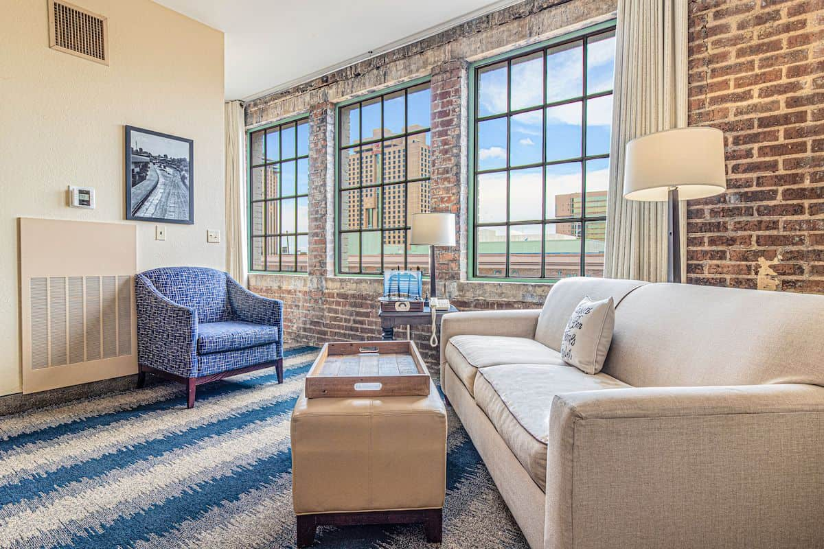 Mercantile Living room 4